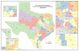 Texas Congressional District Map - 2014