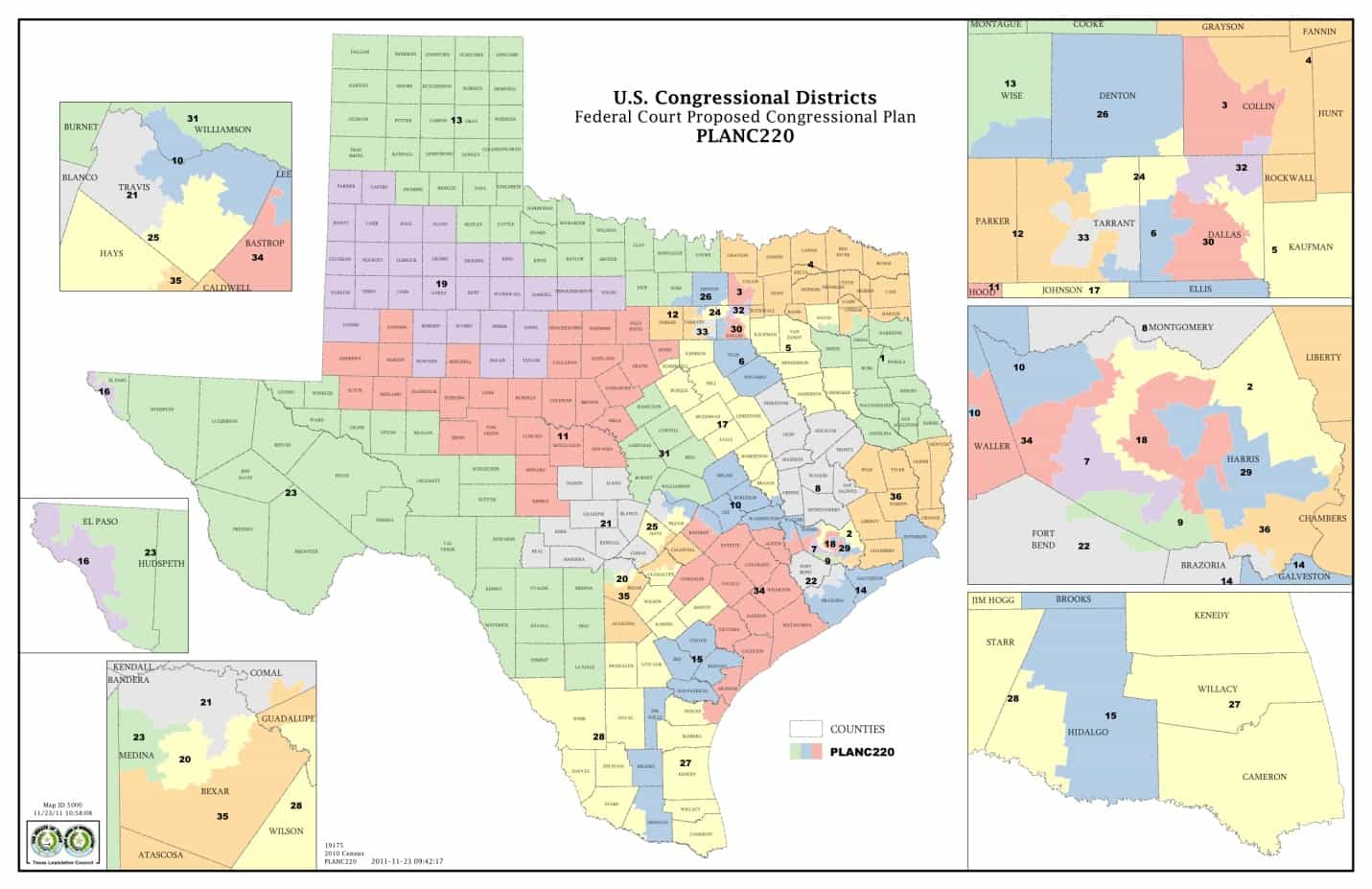 Map Us House Districts - Us house district 13 map