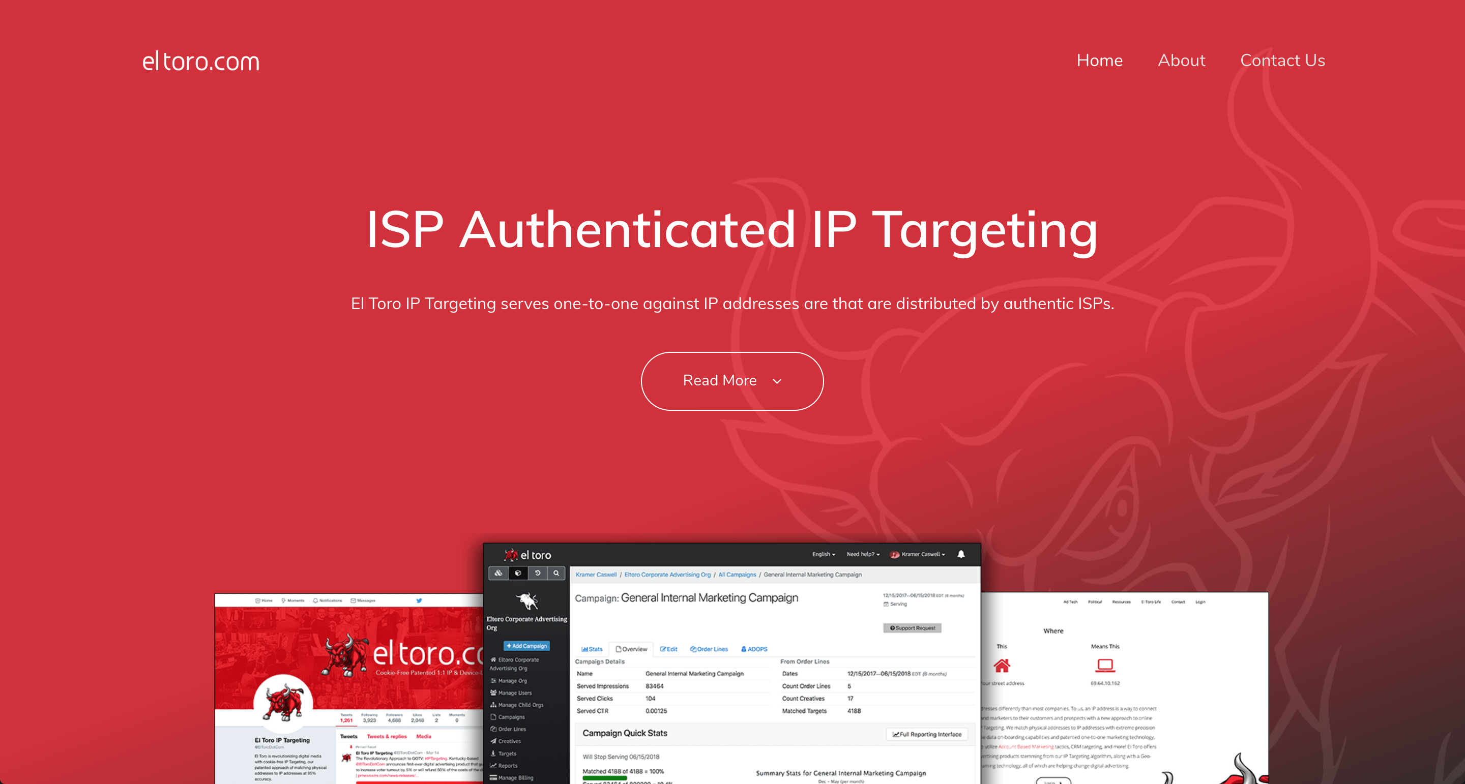 isp authenticated ip targeting